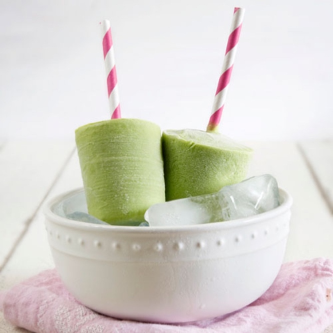 greentea popsicle