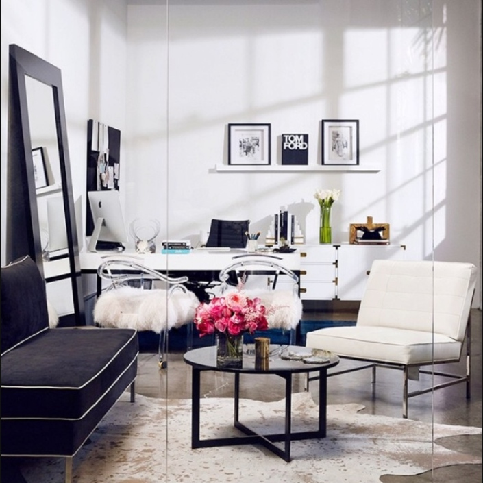 chic home office design home office. Boho \u2013 Modern Chic Home Office Redo Design Y